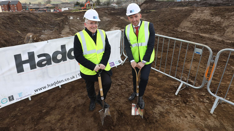 Work starts on new council homes in Biggar