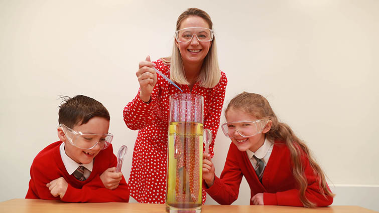 New support for science and technology teaching