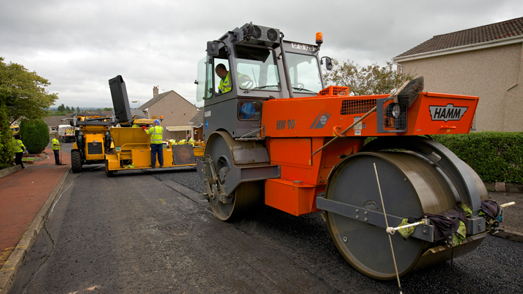 Driving improvements on local roads