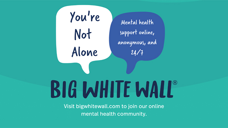 Big White Wall is here to support young adults