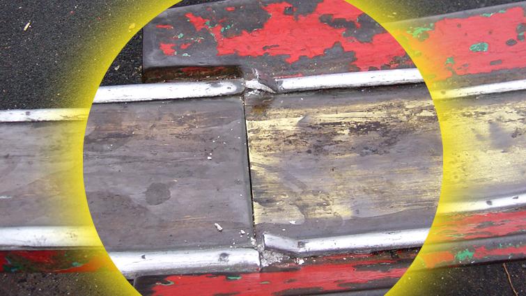 Vandalism could cause serious injury