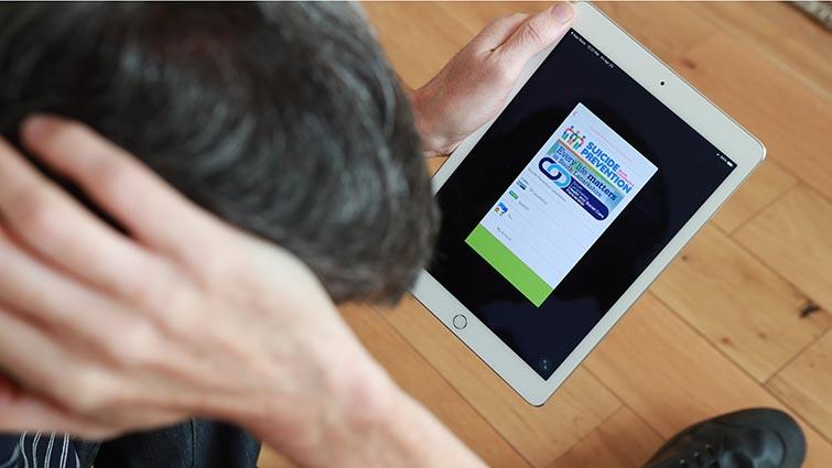 Launch of Lanarkshire suicide prevention app