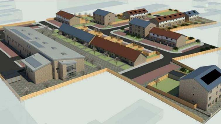 Construction of new council homes and care hub to begin