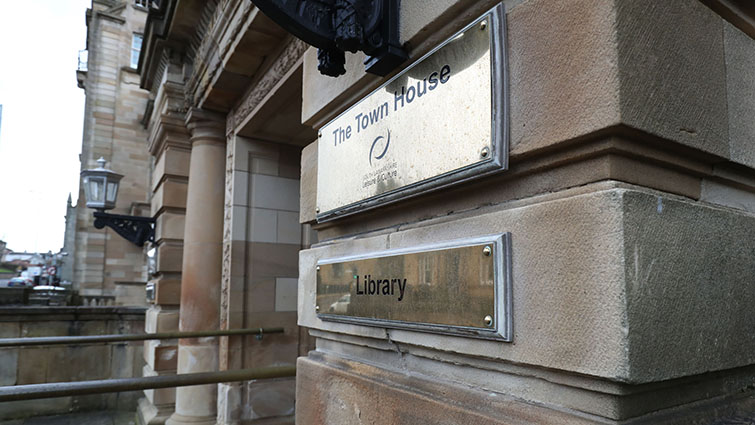 Libraries like this one in Hamilton are set to reopen on a phased basis starting on Monday.