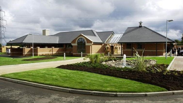 An exterior shot of South Lanarkshire Crematorium