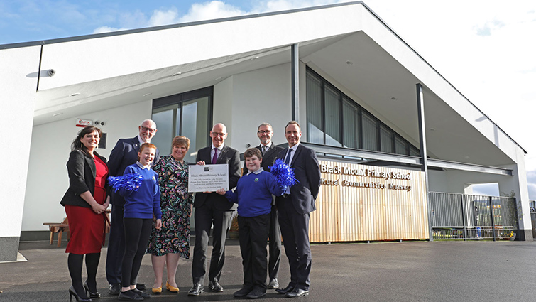 Official opening of Black Mount primary school