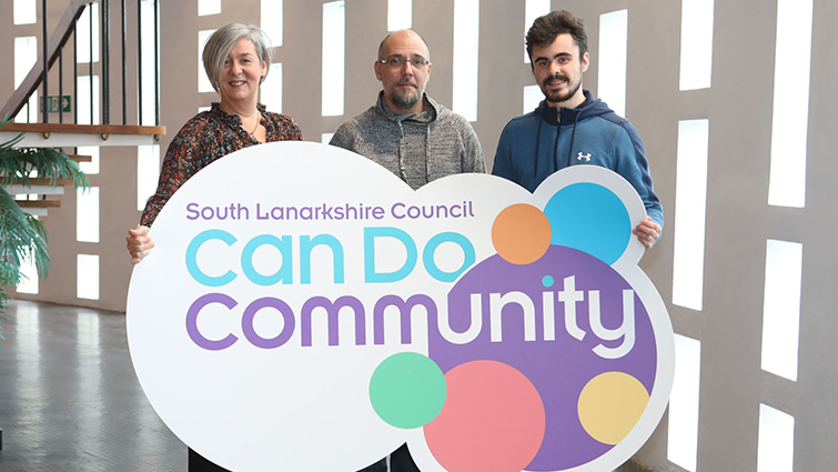 Members of South Lanarkshire Council's Can Do Community Team
